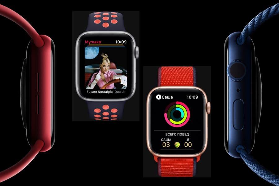 Apple Watch 6 та Apple Watch SE – короткий огляд нових розумних годинників
